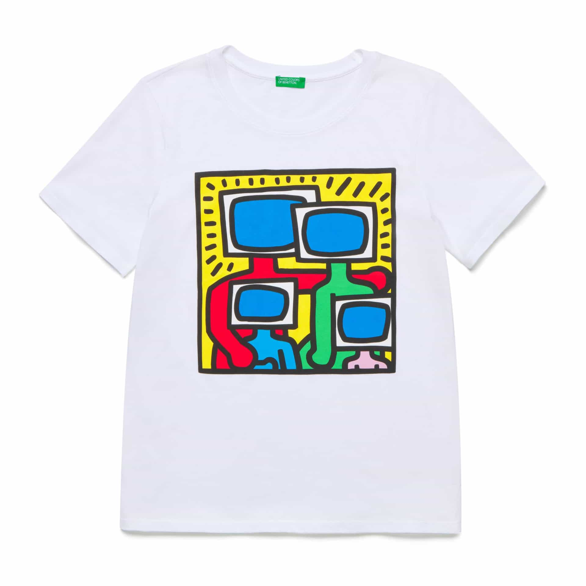 United Colors of Benetton faz homenagem a Keith Haring