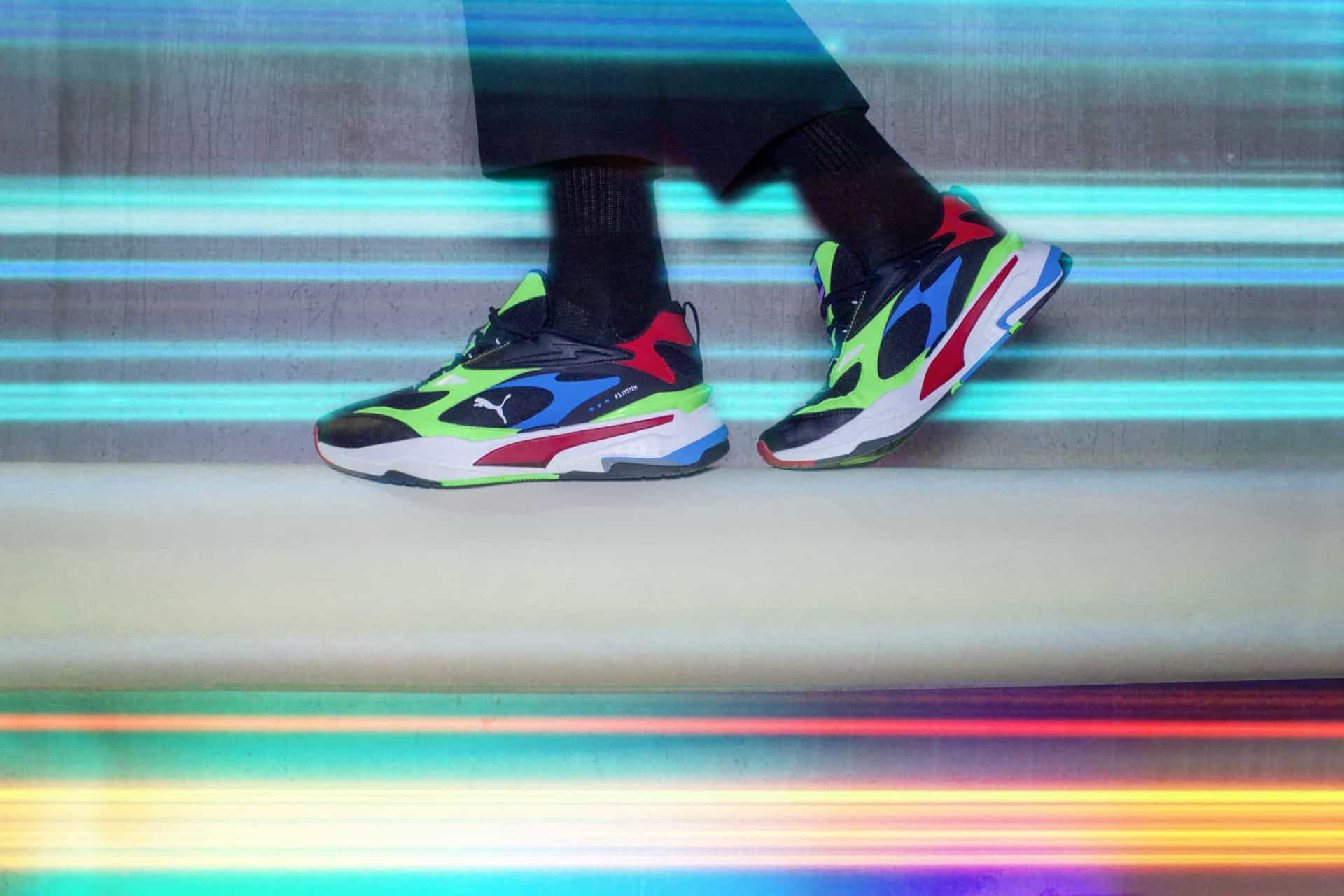 PUMA: RS-Fast combinam estilo dos anos 2000 com estética futurista