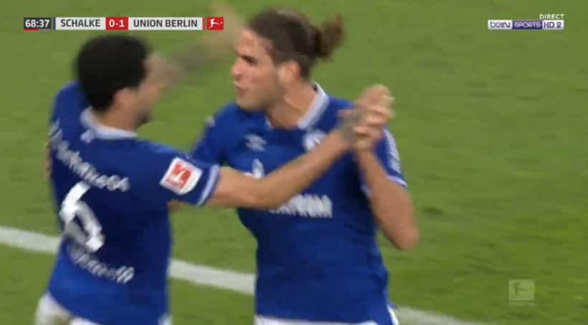 Gonçalo Paciência já marca com a camisola do Schalke 04