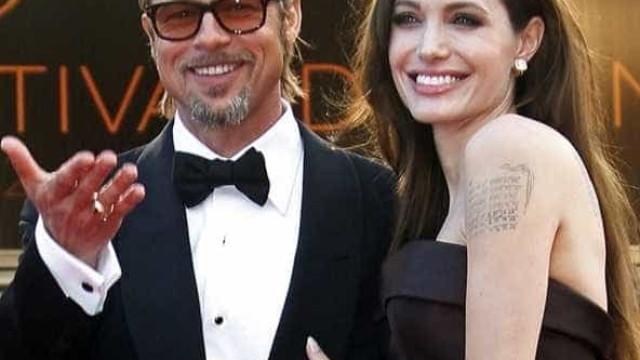 """Brad Pitt está """"irritado"""" e """"frustrado"""" com atitudes de Angelina Jolie"""