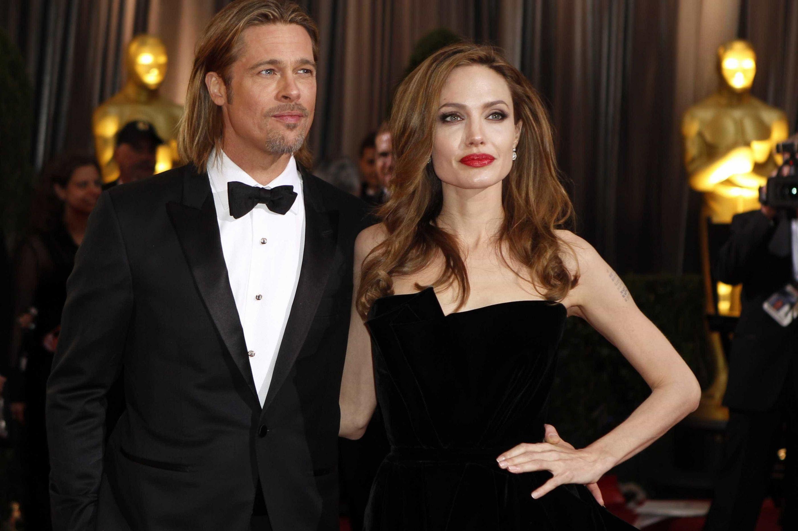 Angelina Jolie disse ao filho que Brad Pitt nunca o quis adotar