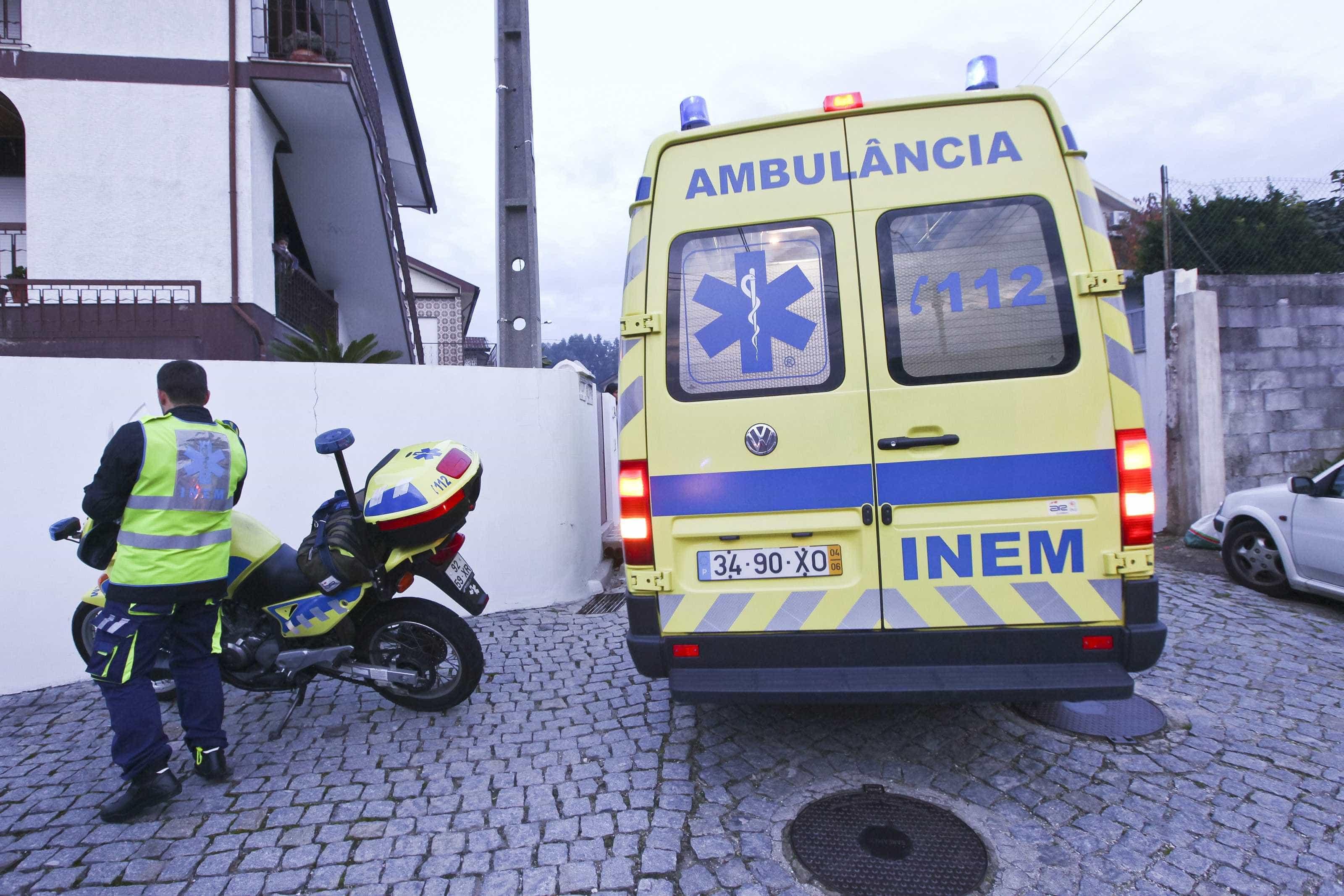 Acidente na avenida Calouste Gulbenkian em Lisboa faz dois feridos