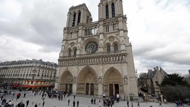 Trump ofereceu ao Papa ajuda para a reconstrução de Notre Dame