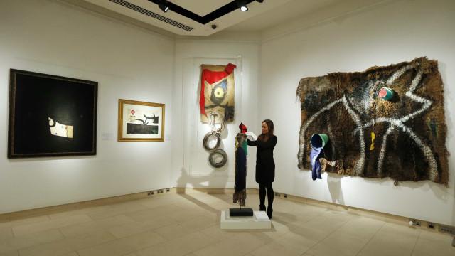 Nova mostra de Miró em Serralves junta 34 obras de diversas coleções