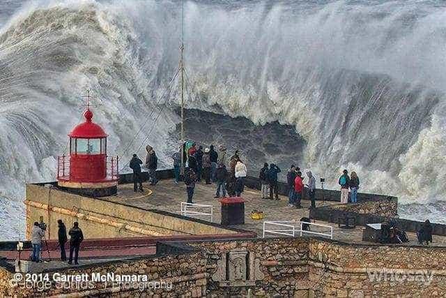 Nazaré recebe evento especial de ondas 'gigantes' no domingo