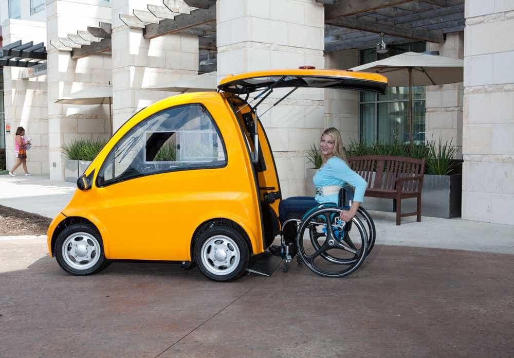 Kenguru, o carro (só) para quem anda em cadeira de rodas