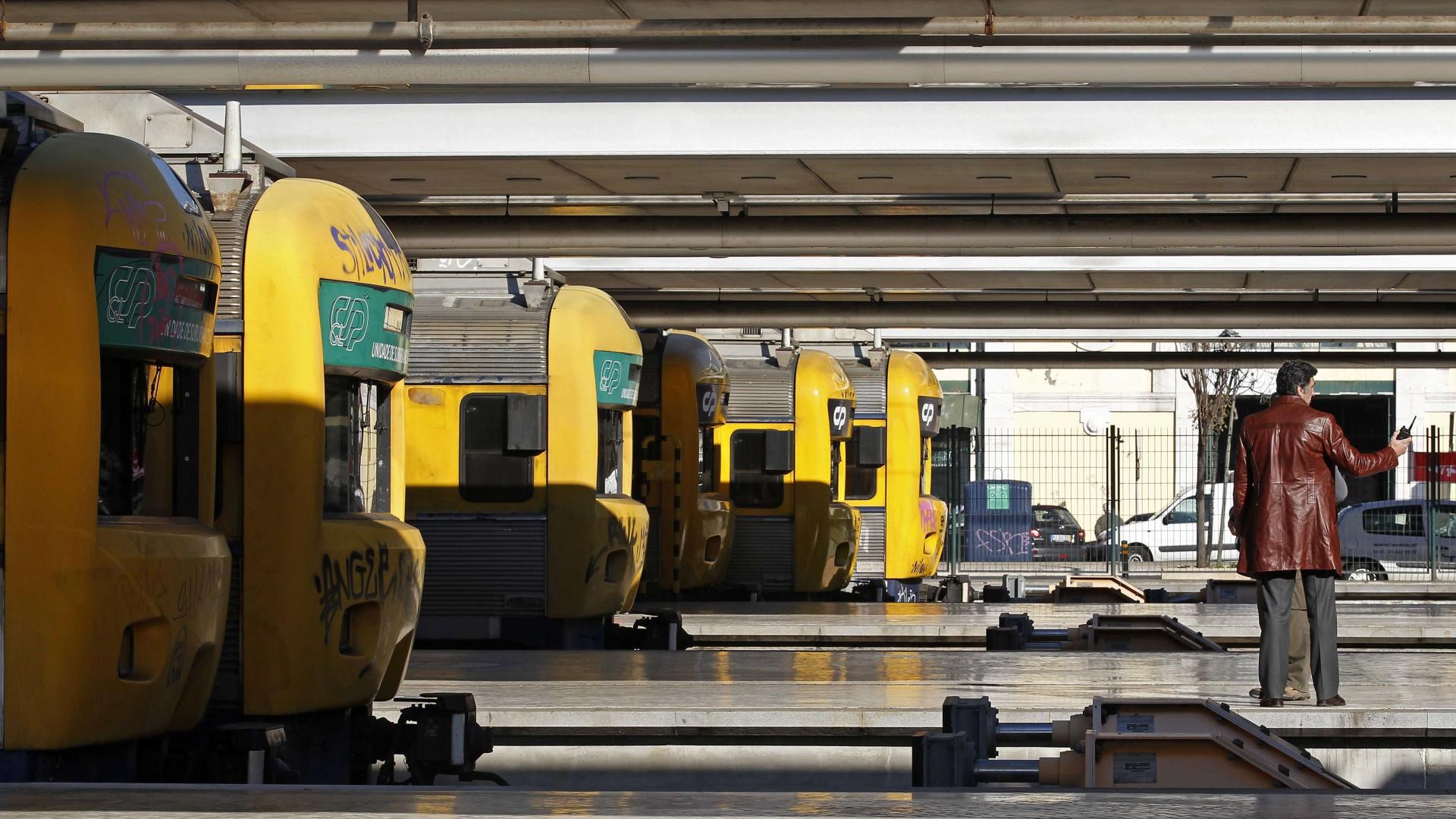 Detidos por entrarem em local vedado e grafitarem comboio em Lisboa