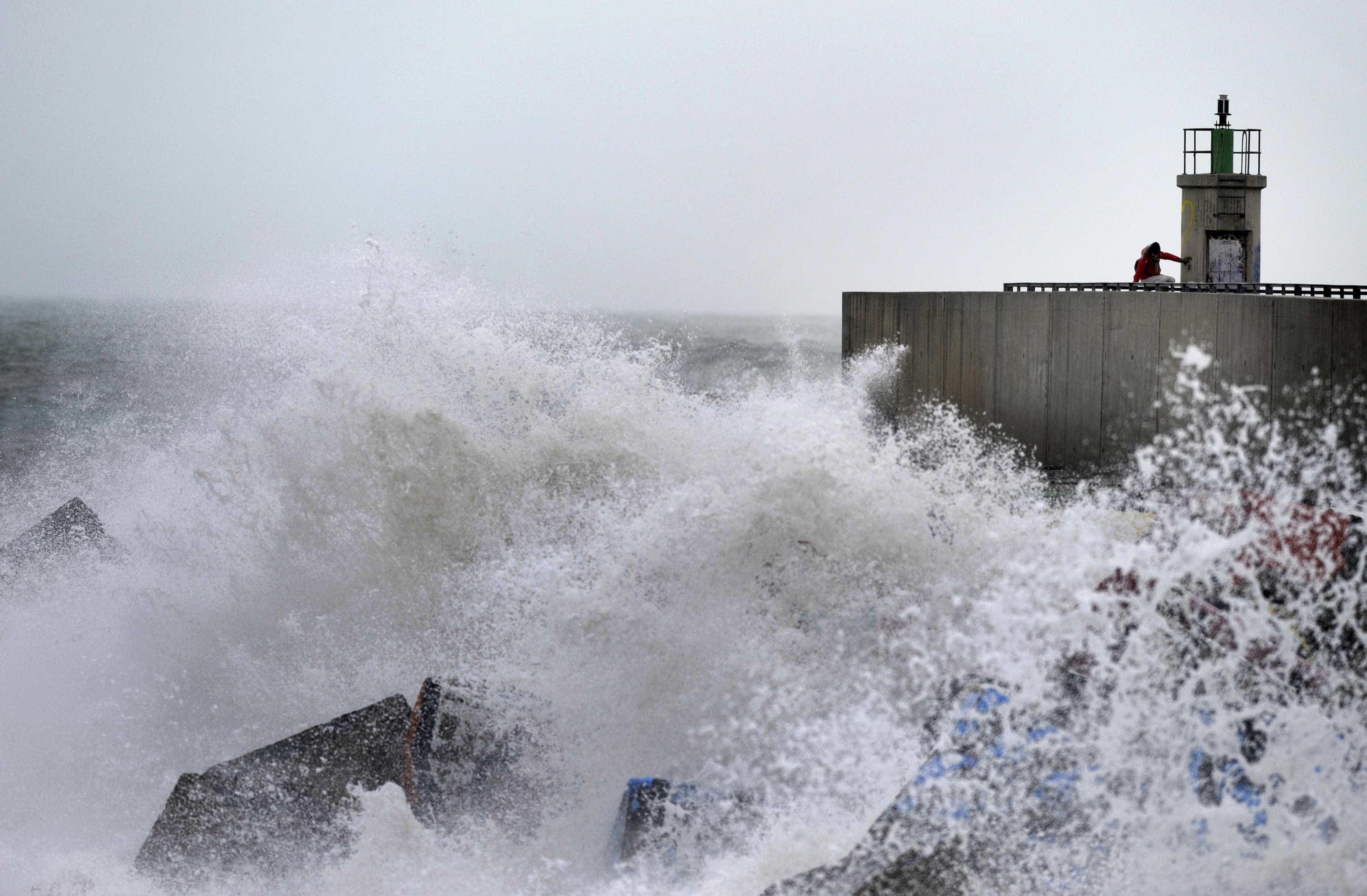 Mau tempo: Cinco barras fechadas devido à previsão de agitação marítima