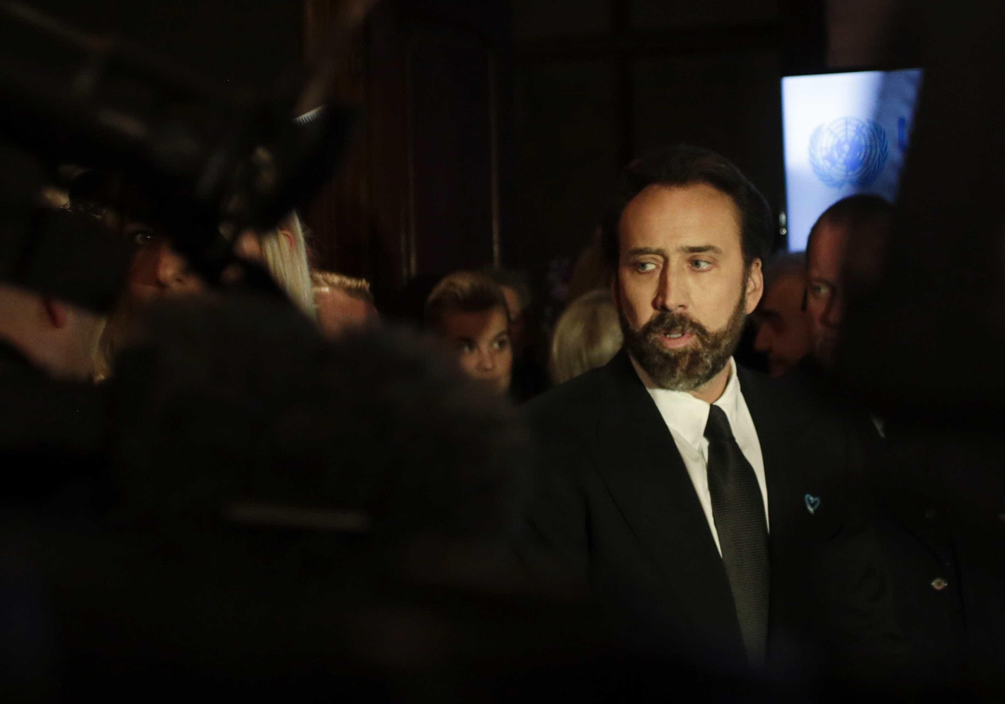 Nicolas Cage prepara-se para casar-se pela quarta vez?