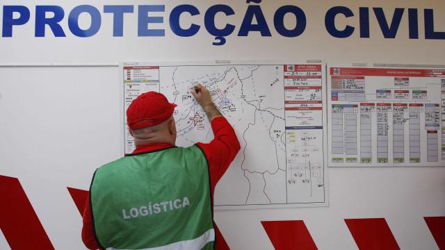 Mais de 380 ocorrências em vários distritos do continente até às 13h30