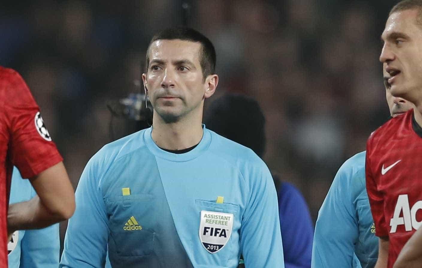 Já há árbitro para o jogo entre o FC Porto e a Roma