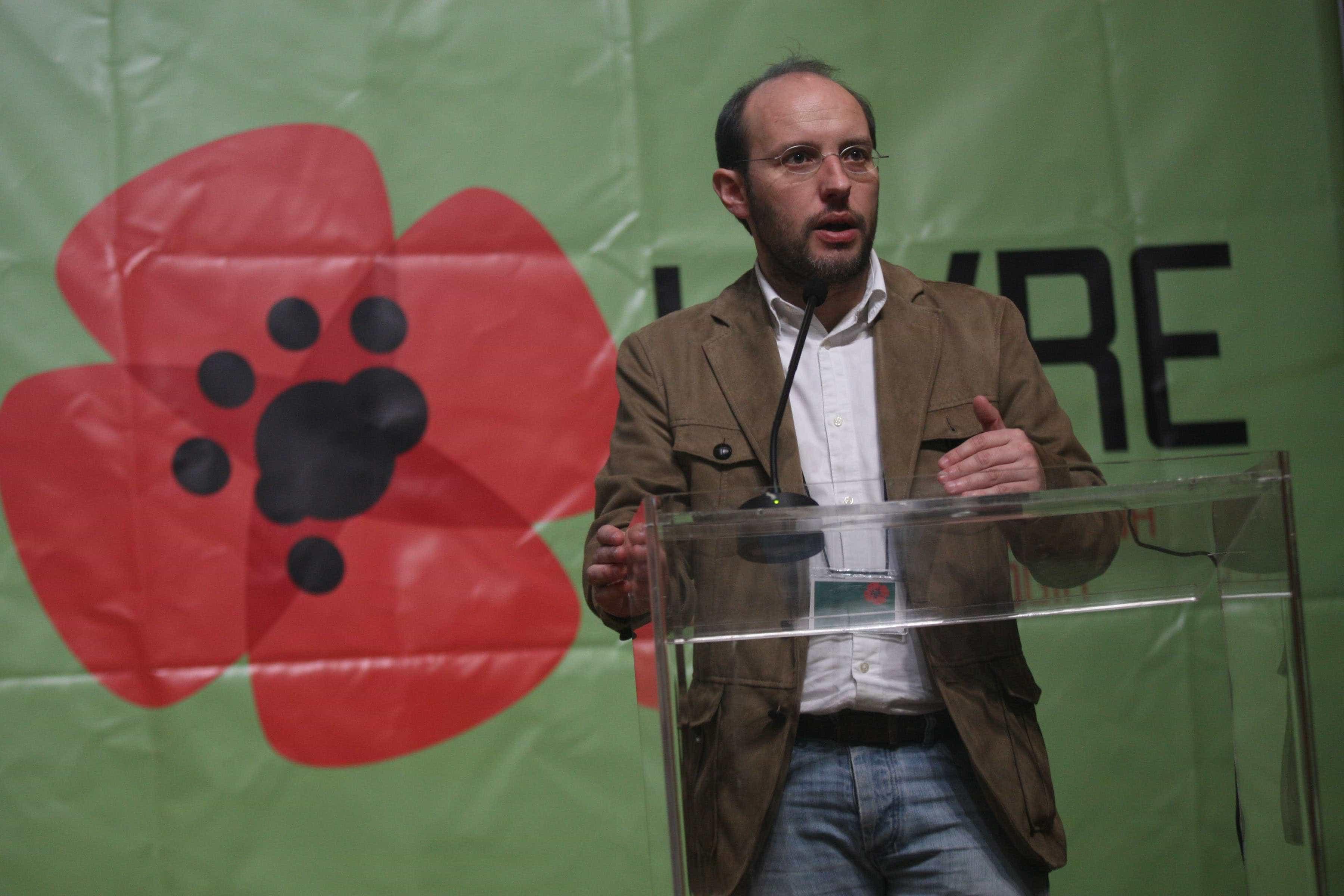 Europeias: Rui Tavares volta a ser o cabeça de lista pelo Livre