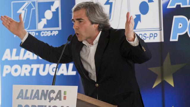 """CDS rotula lista do PS às Europeias como """"ode a José Sócrates"""""""