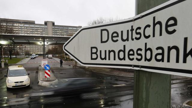 Bundesbank revê de novo em baixa crescimento para 1,5% este ano
