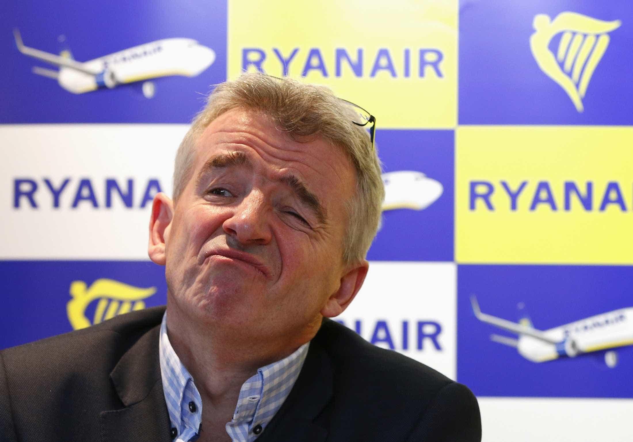 """Presidente da Ryanair recusou falar ao Parlamento porque """"não é político"""""""