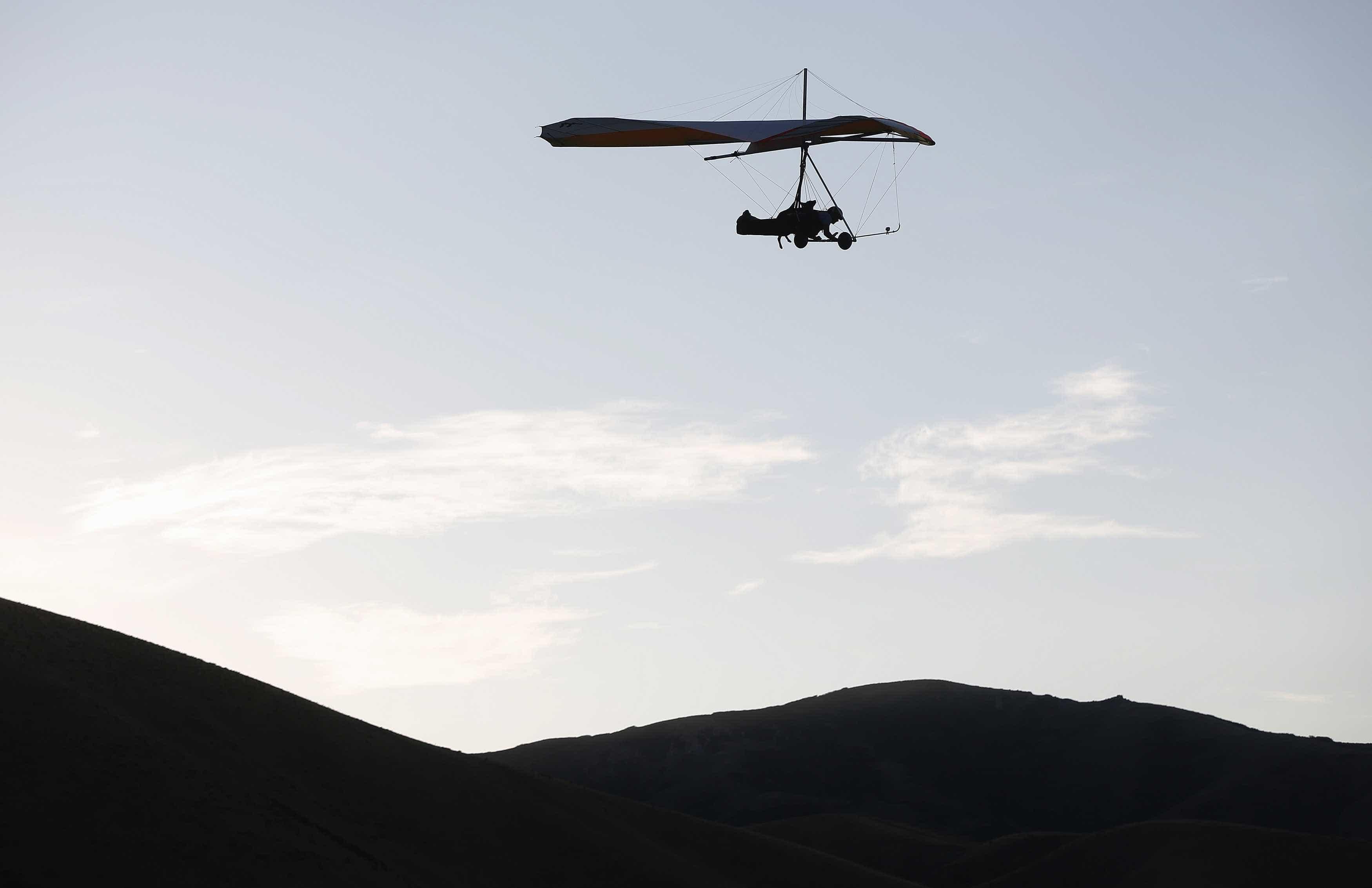 Piloto que morreu em queda de asa delta não estava autorizado a voar
