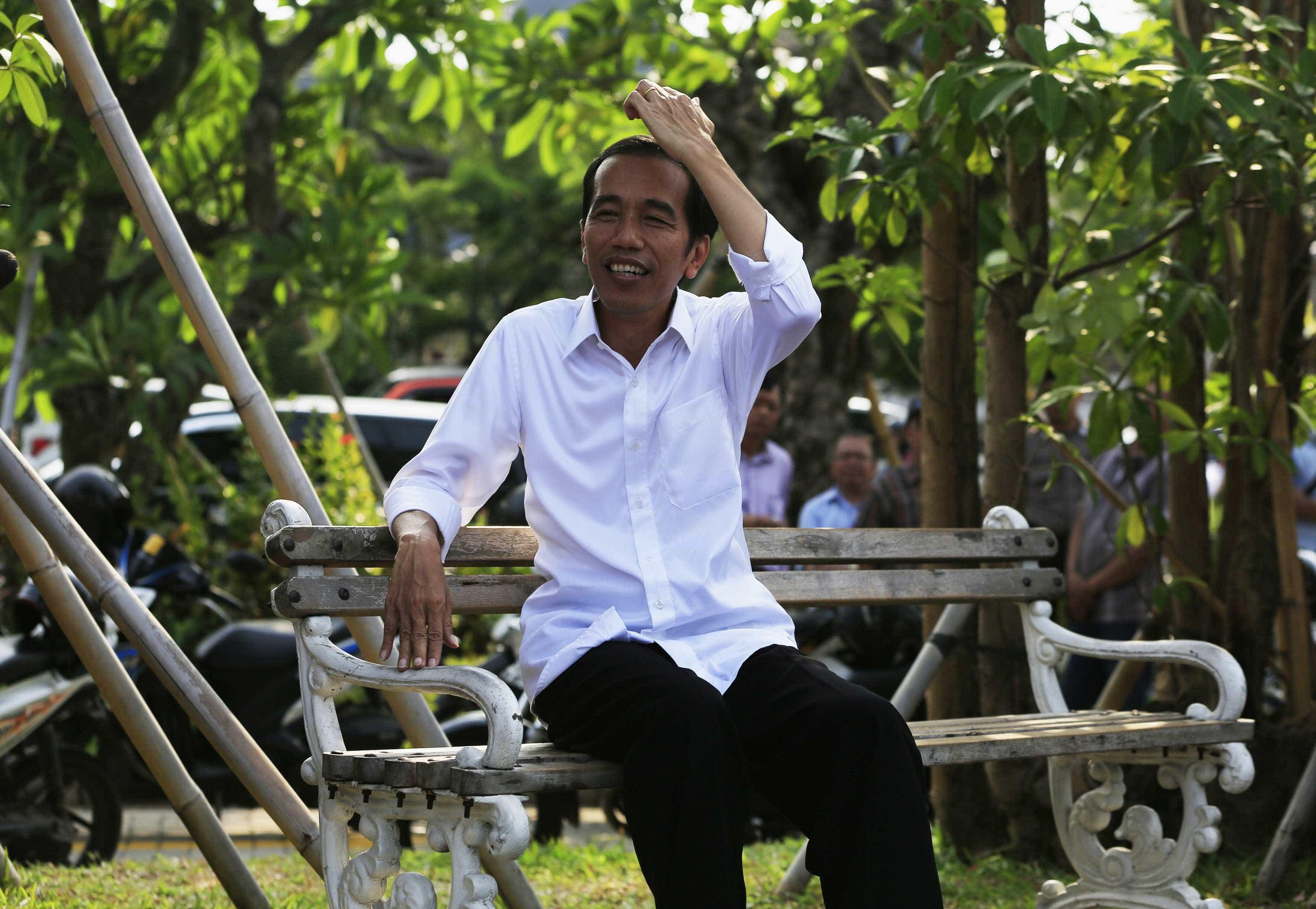 Sondagens à boca da urna indicam vitória de Widodo na Indonésia