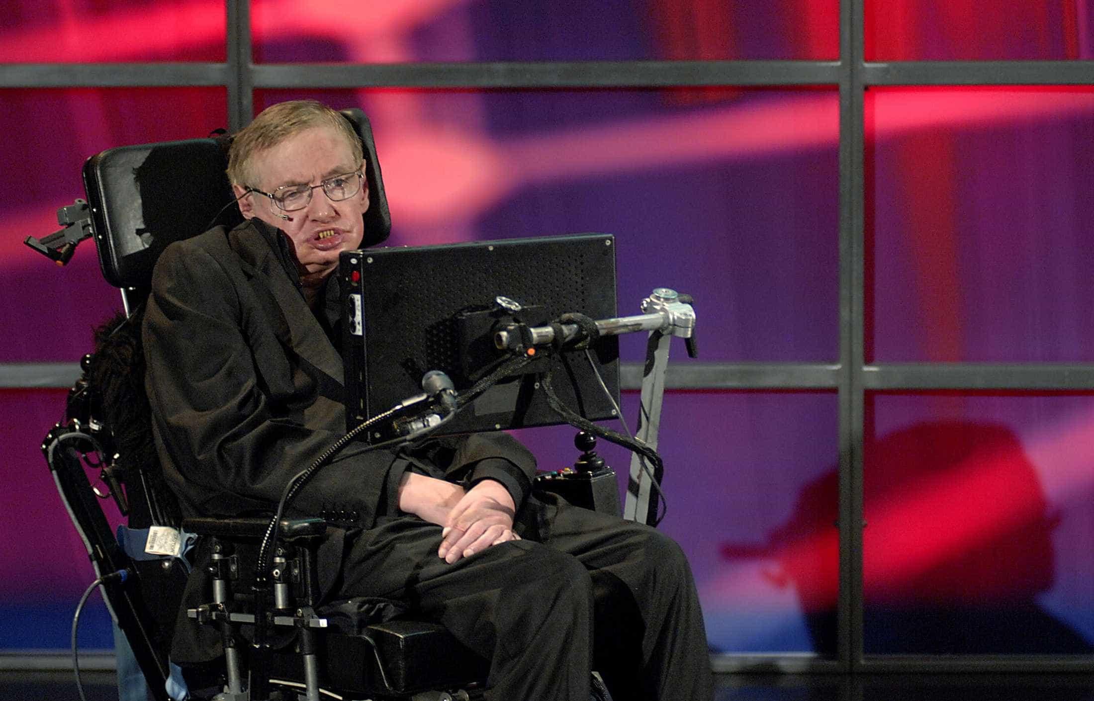Stephen Hawking está a caminho do espaço