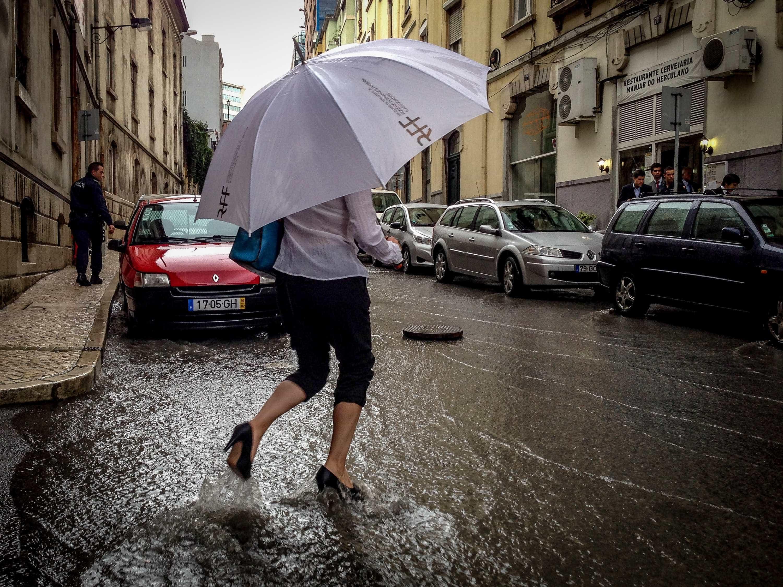 Registadas dezenas de inundações no distrito de Lisboa