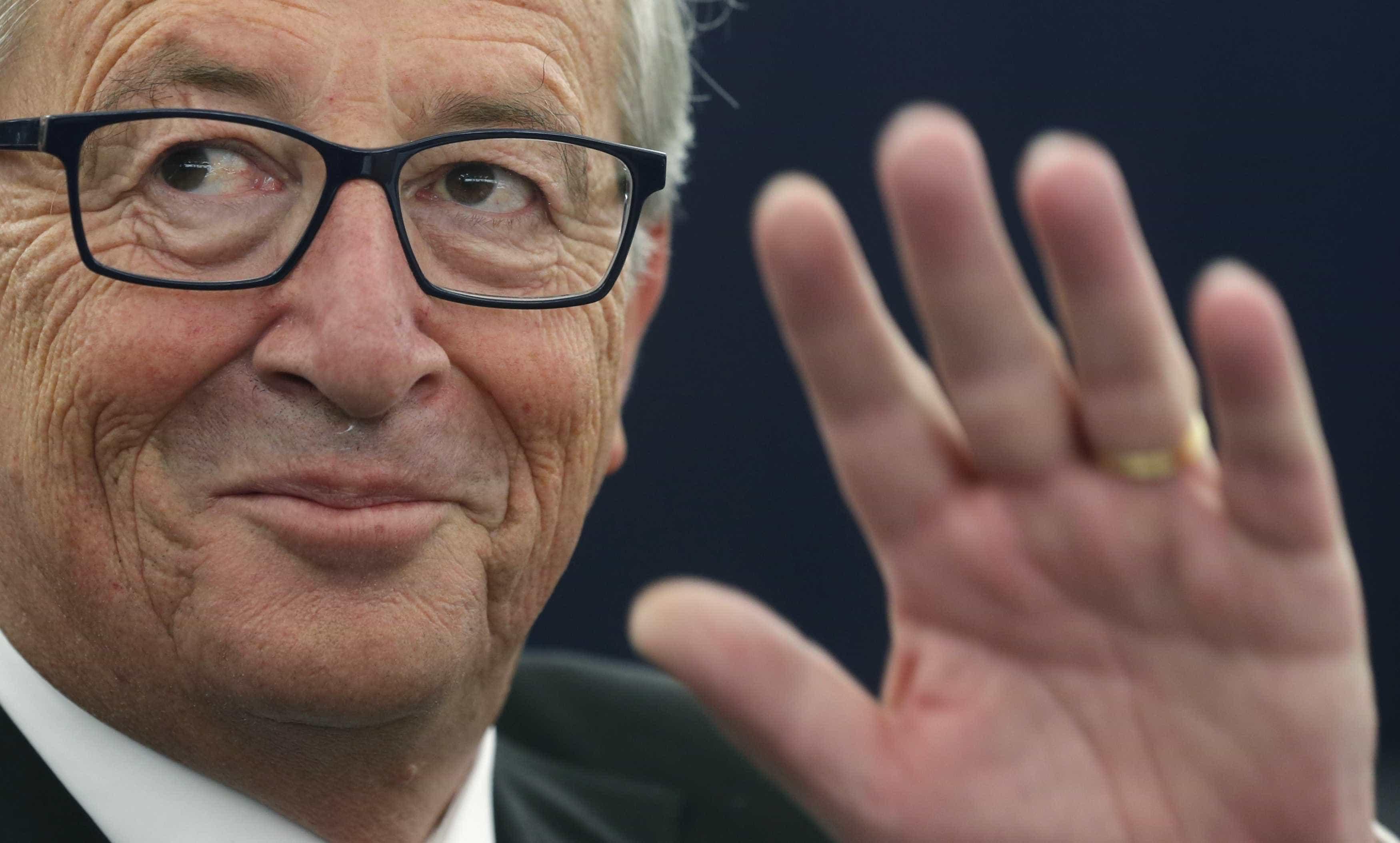 Juncker diz que processo é passado e quer focar-se no futuro da UE a 27