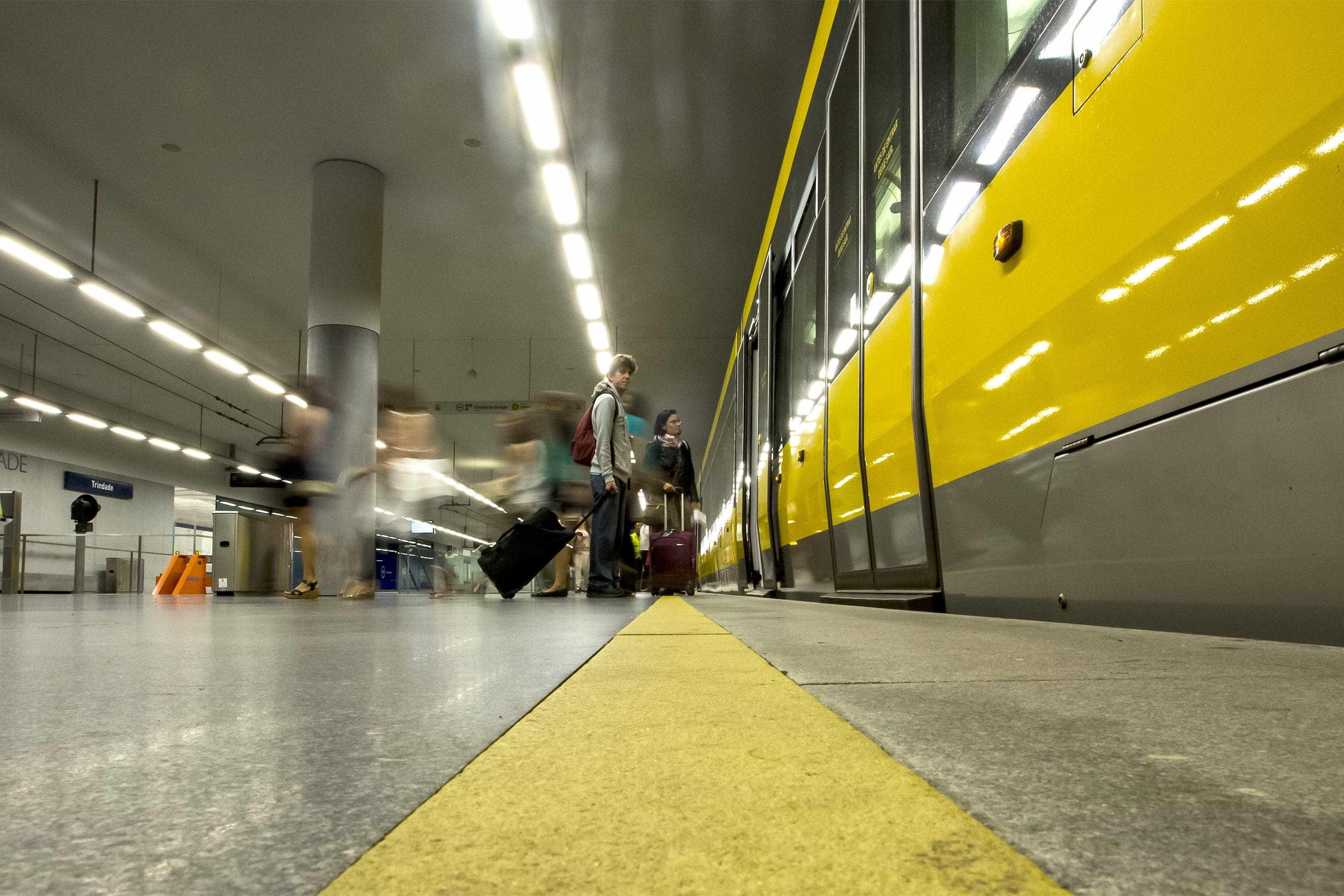 Atropelamento interrompe circulação de metro em Matosinhos
