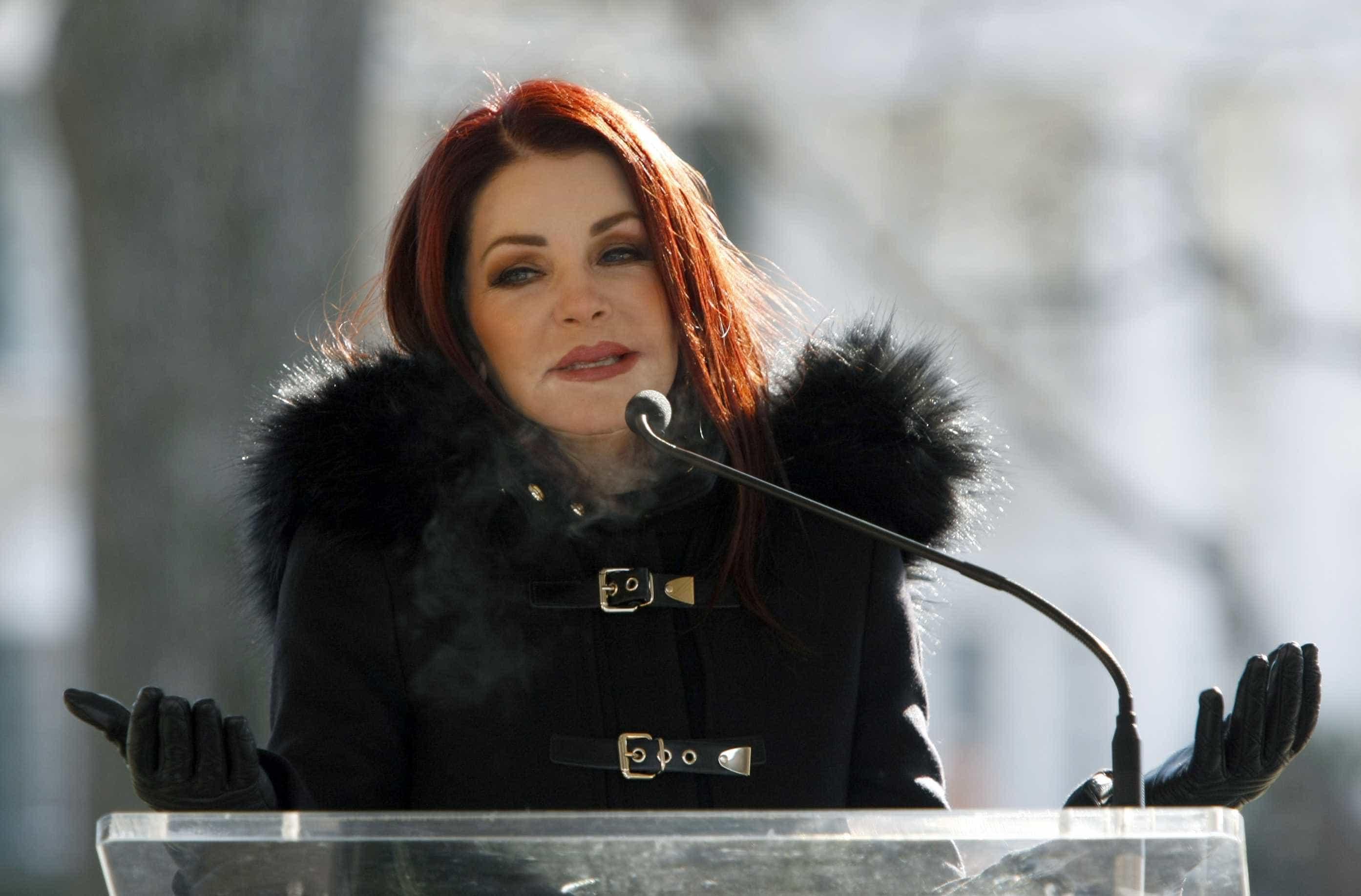 Mulher de Elvis Presley já tem planeado o próprio funeral