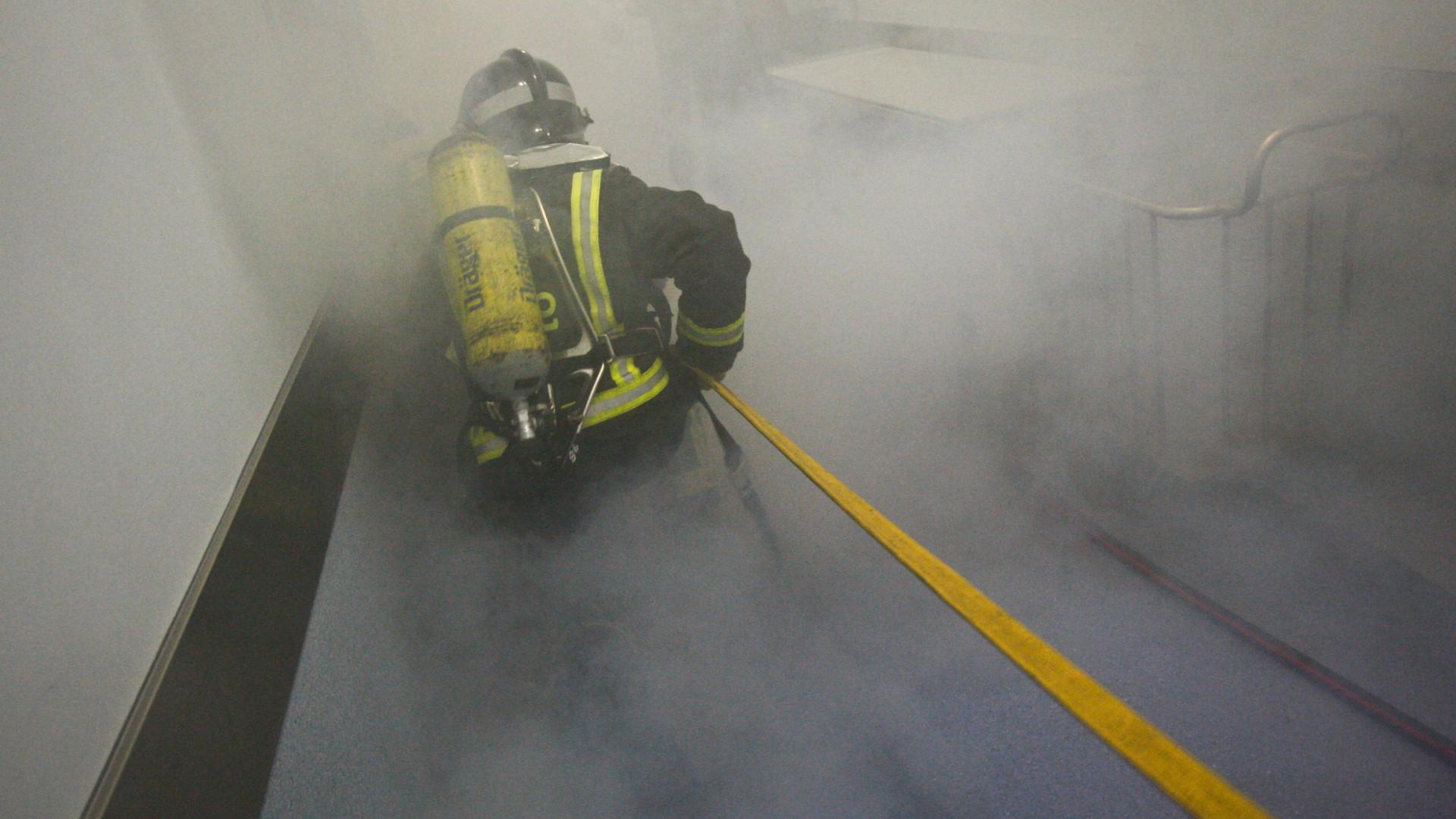 Incêndio na Tratolixo em São Domingos de Rana