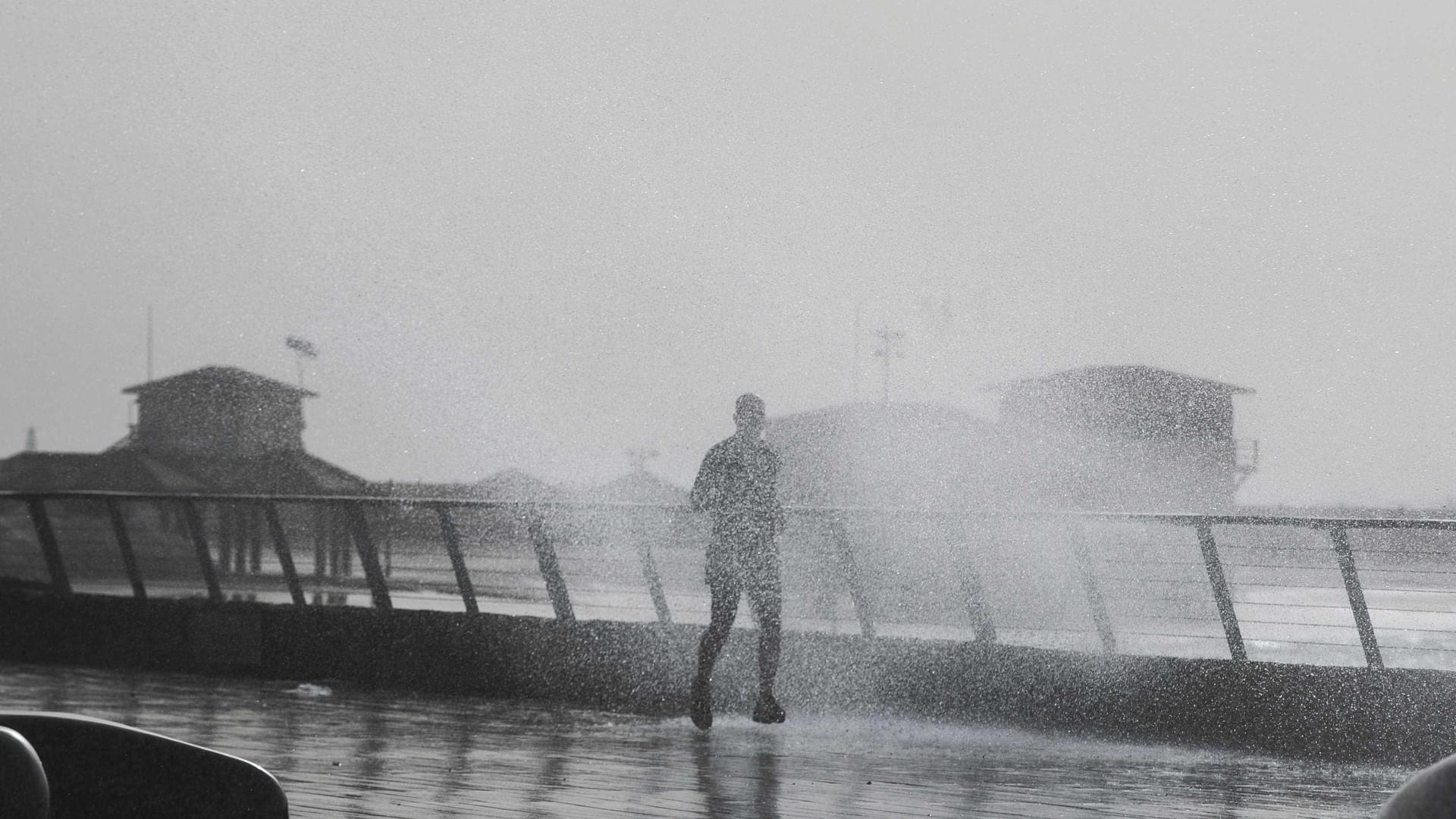 Forte agitação marítima continua e chuva pode vir acompanhada de trovoada cae17d62088