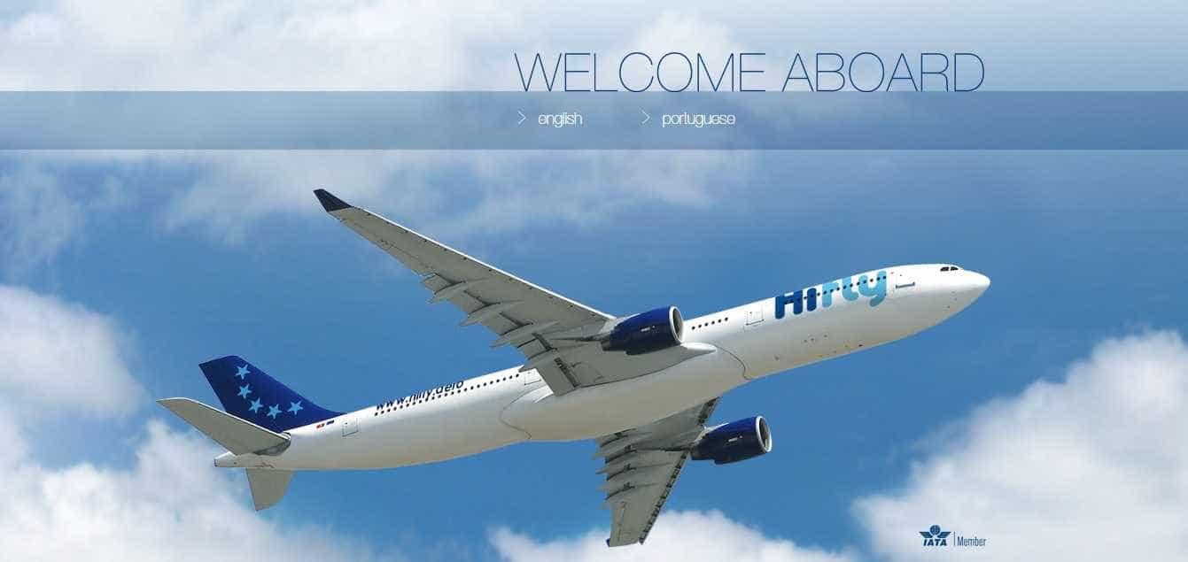 Primeira companhia aérea a viajar sem plástico a bordo é 'nossa'