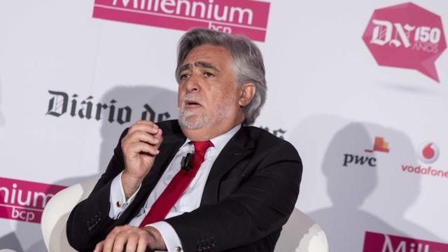 Energia: Luís Amado diz estar preocupado com futuro da EDP