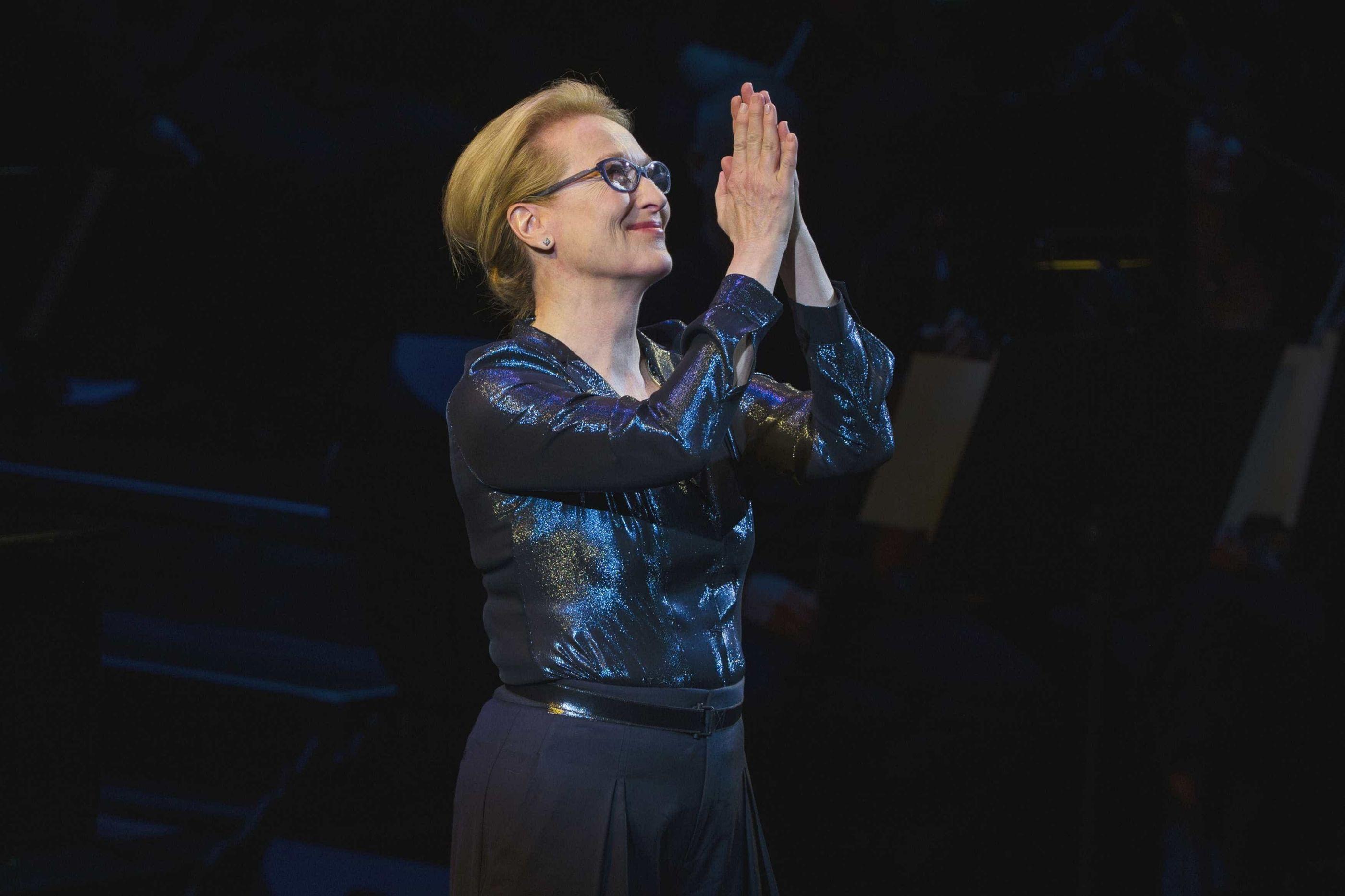 Meryl Streep vai ser avó pela primeira vez
