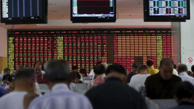 Bolsa de Xangai encerra com subida de 2,68%