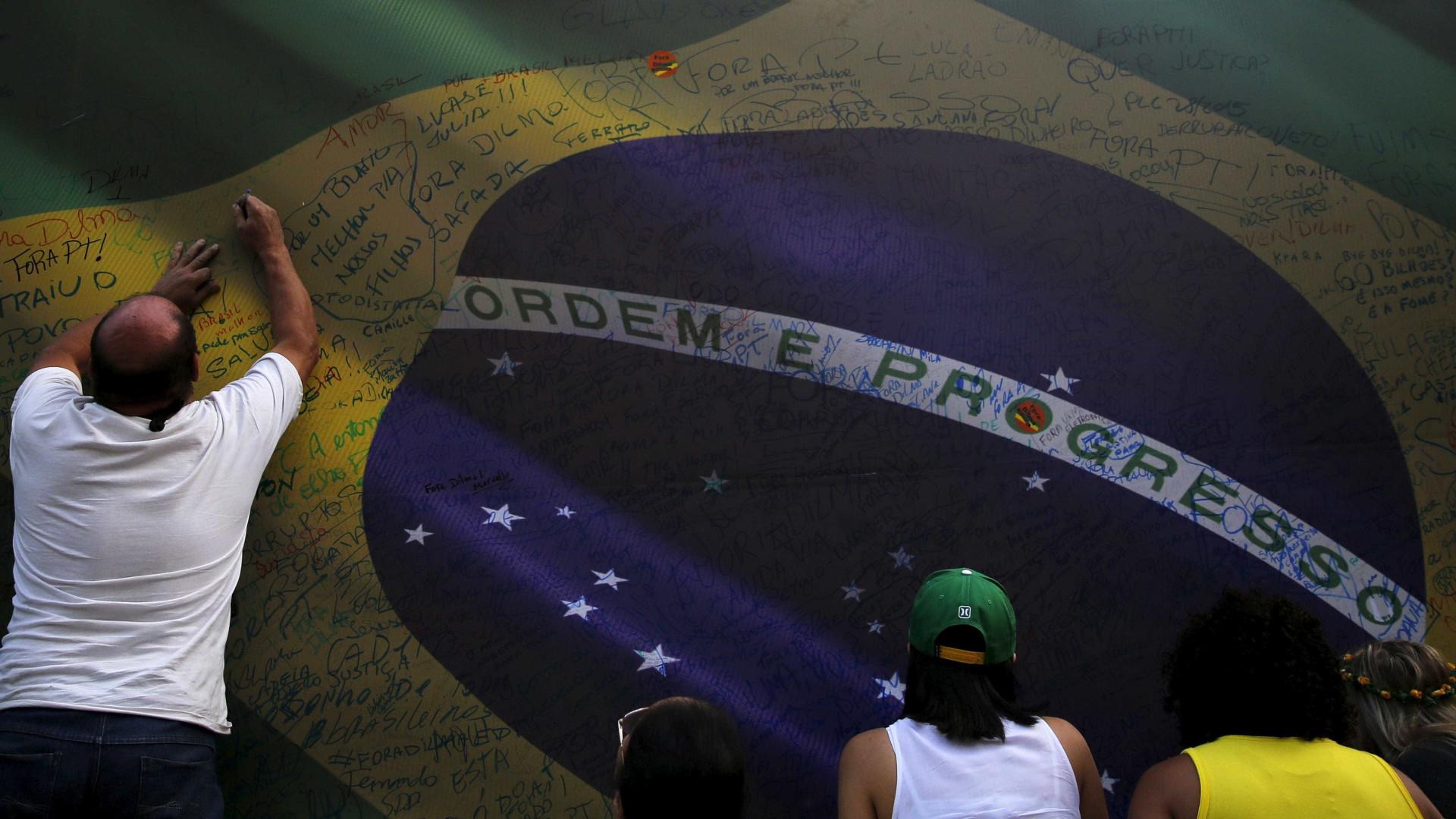 """""""Vamos tentar ser porta-vozes dos interesses do Brasil junto da UE"""""""