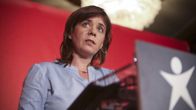 Catarina Martins quer que AR trave construção da barragem de Fridão