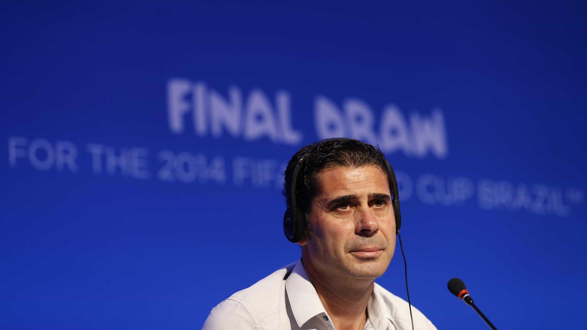 161a0362725b5 Oficial  Hierro é o novo treinador da seleção espanhola