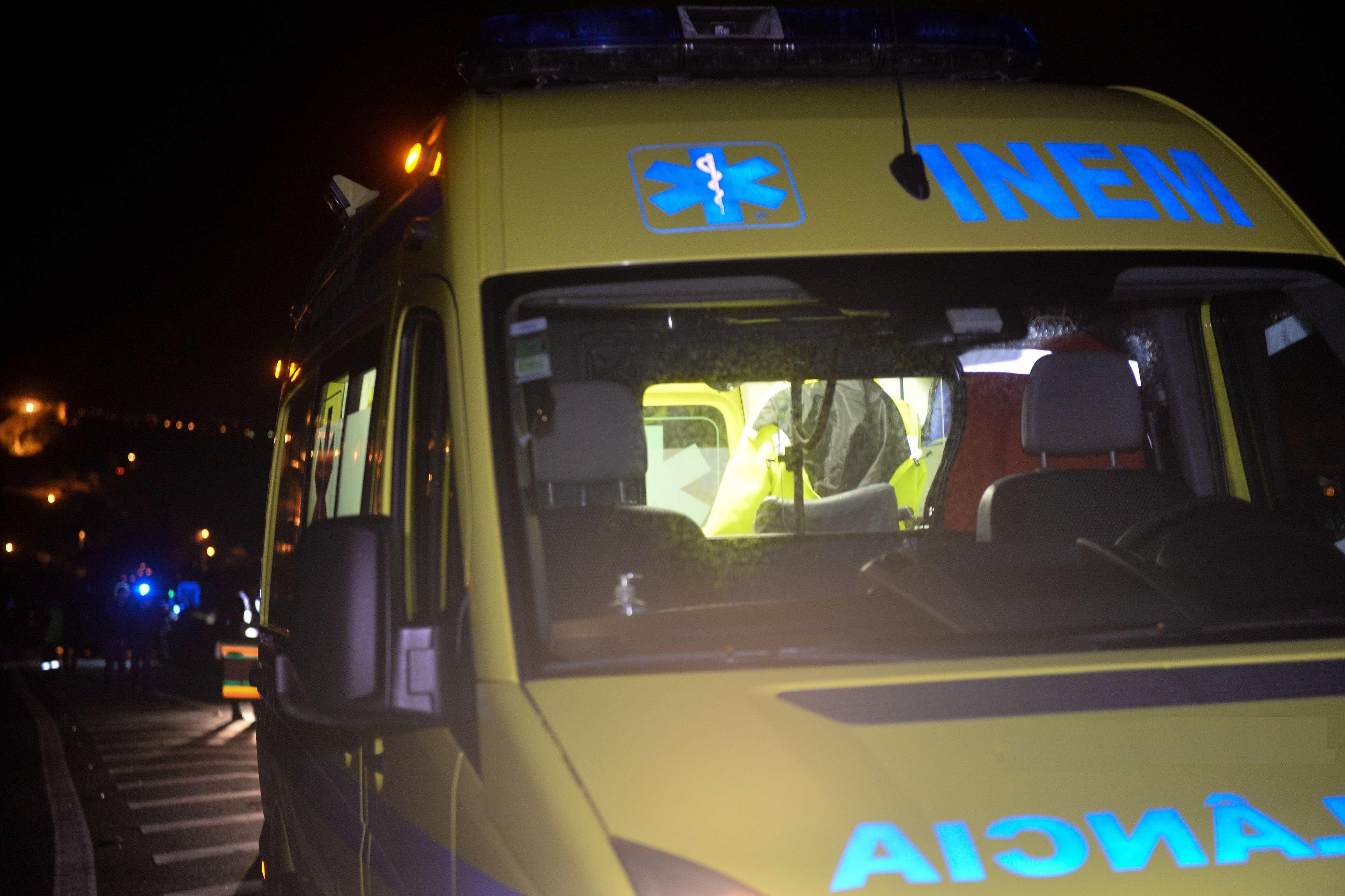 Homem em estado grave após acidente na EN110