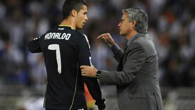 Conversa revelada: CR7 marcou hattrick mas ouviu de Mourinho no balneário