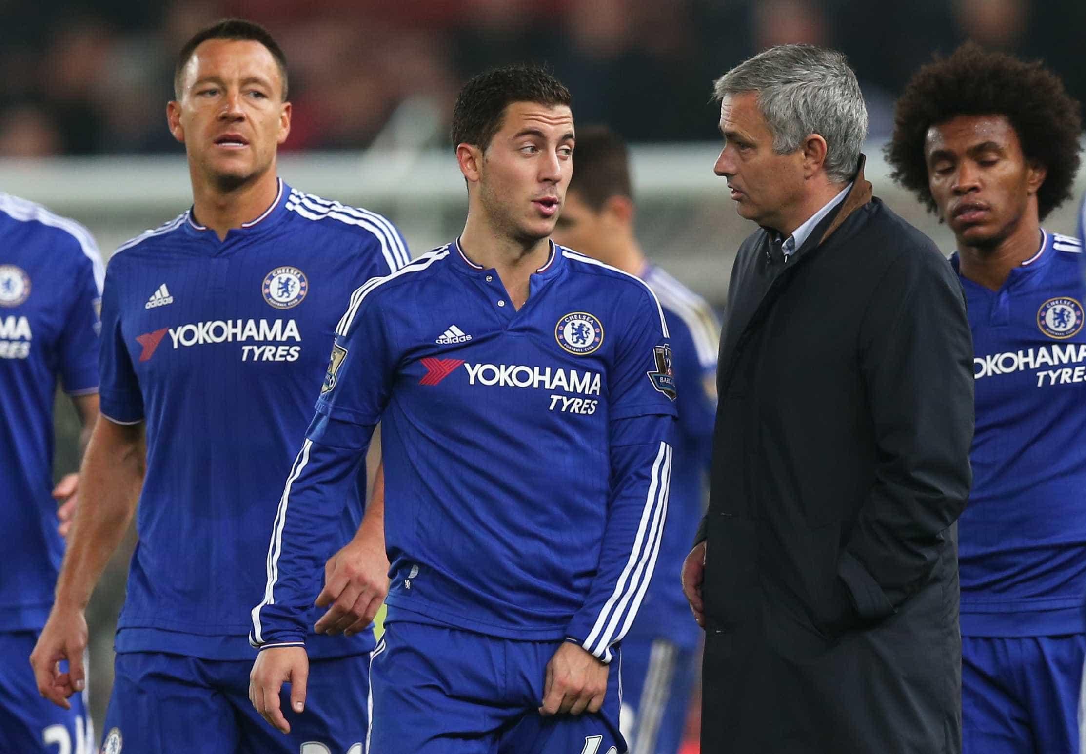 """Hazard recorda Mourinho: """"Era especial, mas..."""""""