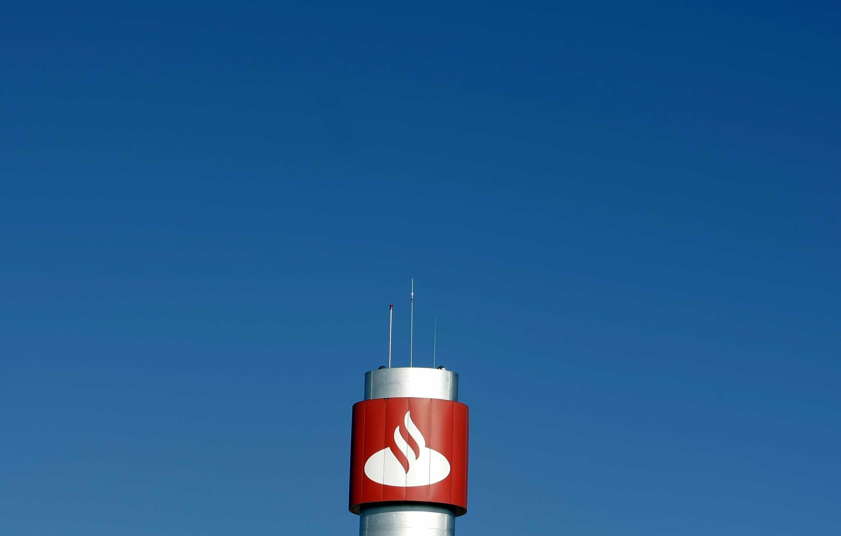Santander multado em 36,4 milhões de euros no Reino Unido