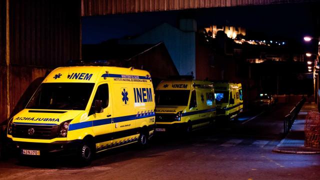 Despiste de autocarro no Barreiro faz oito feridos. Um em estado grave