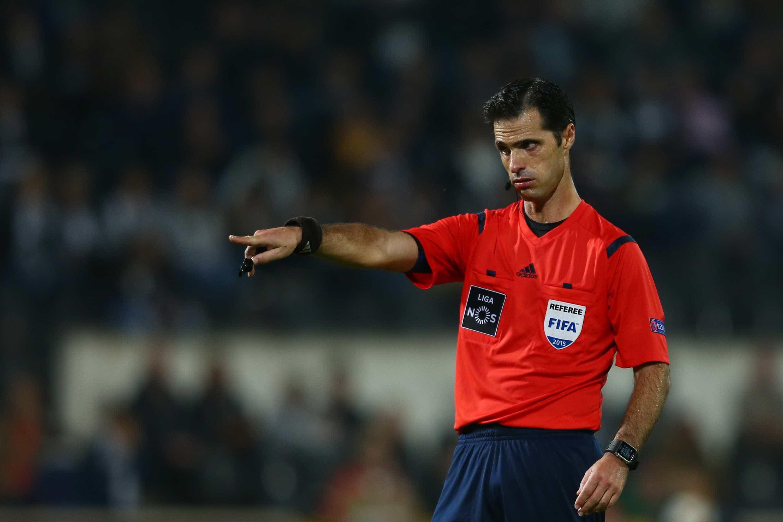 Carlos Xistra apita jogo entre Nacional e Sporting