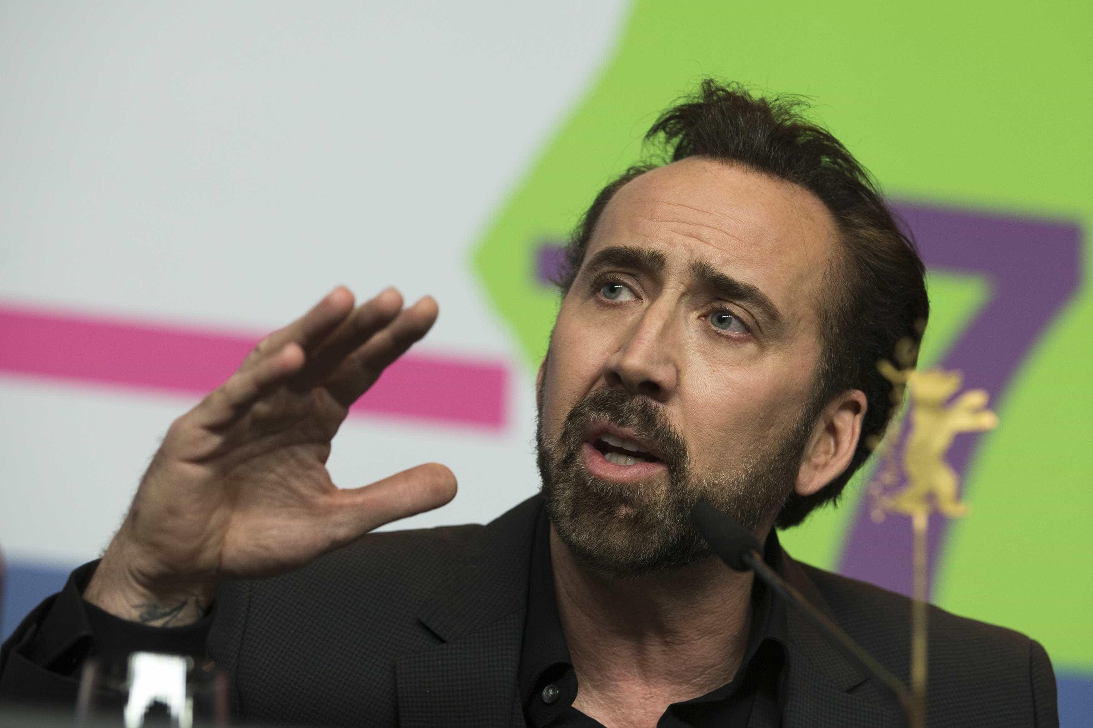 Mulher com quem Nicolas Cage esteve casado quatro dias exige pensão