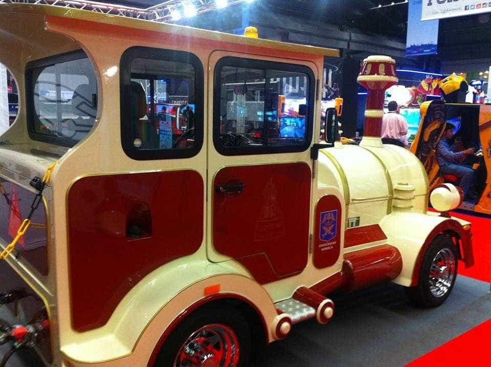 Deltrain fabrica comboios turísticos 100% ao gosto do cliente