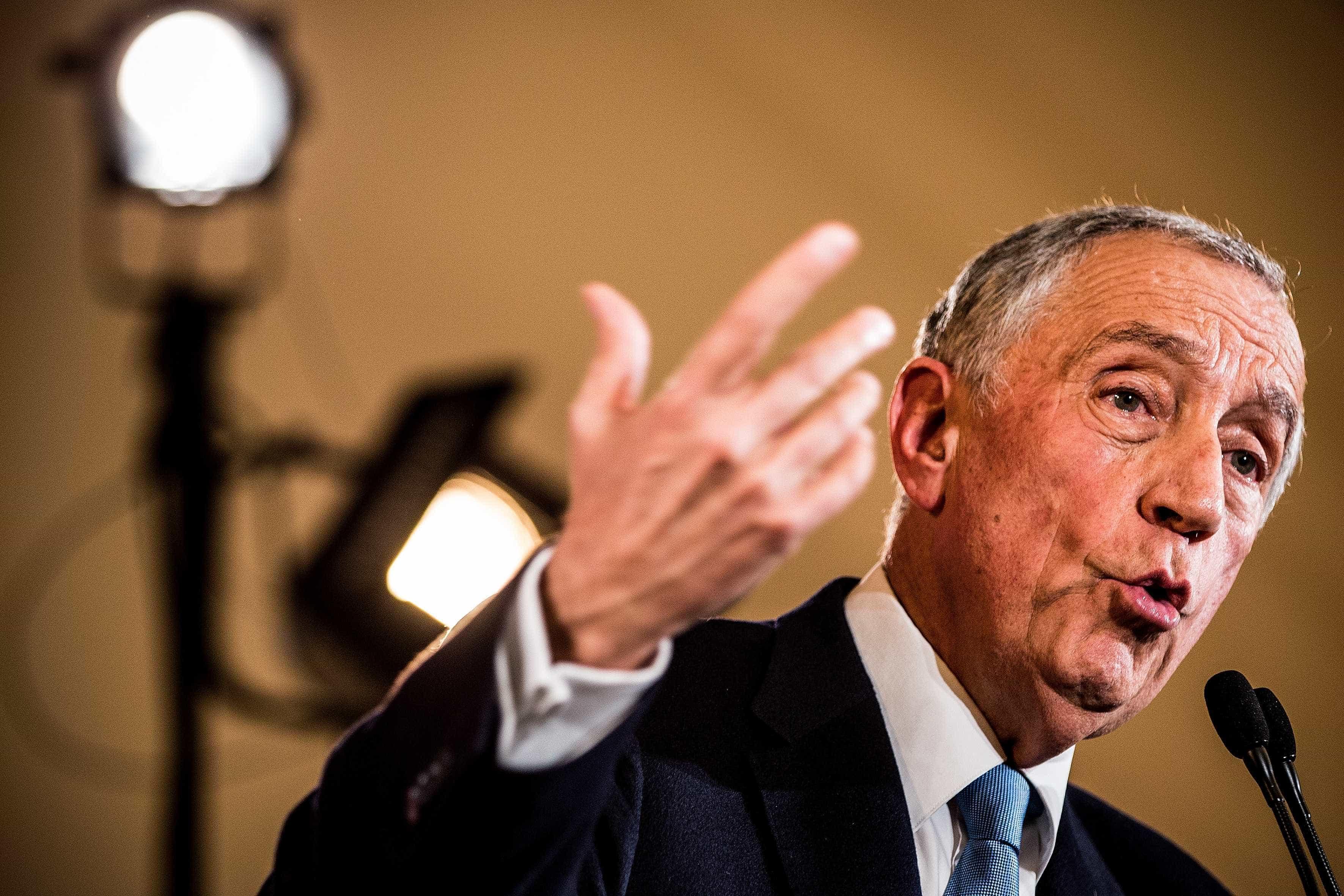 """Marcelo assume """"grande vontade"""" de se recandidatar à Presidência"""