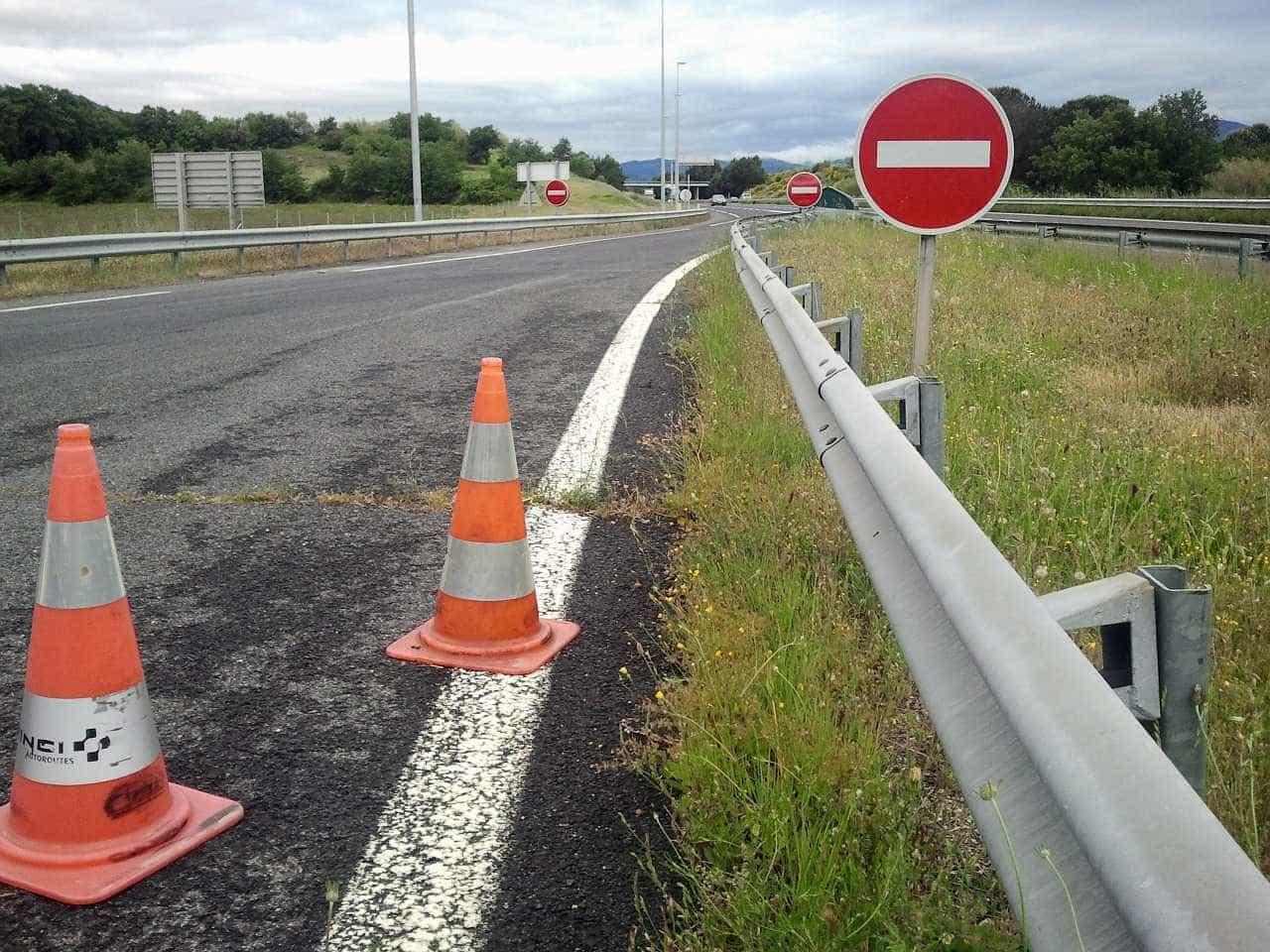 Circulação na A41, A4 e VRI condicionada até final do mês devido a obras