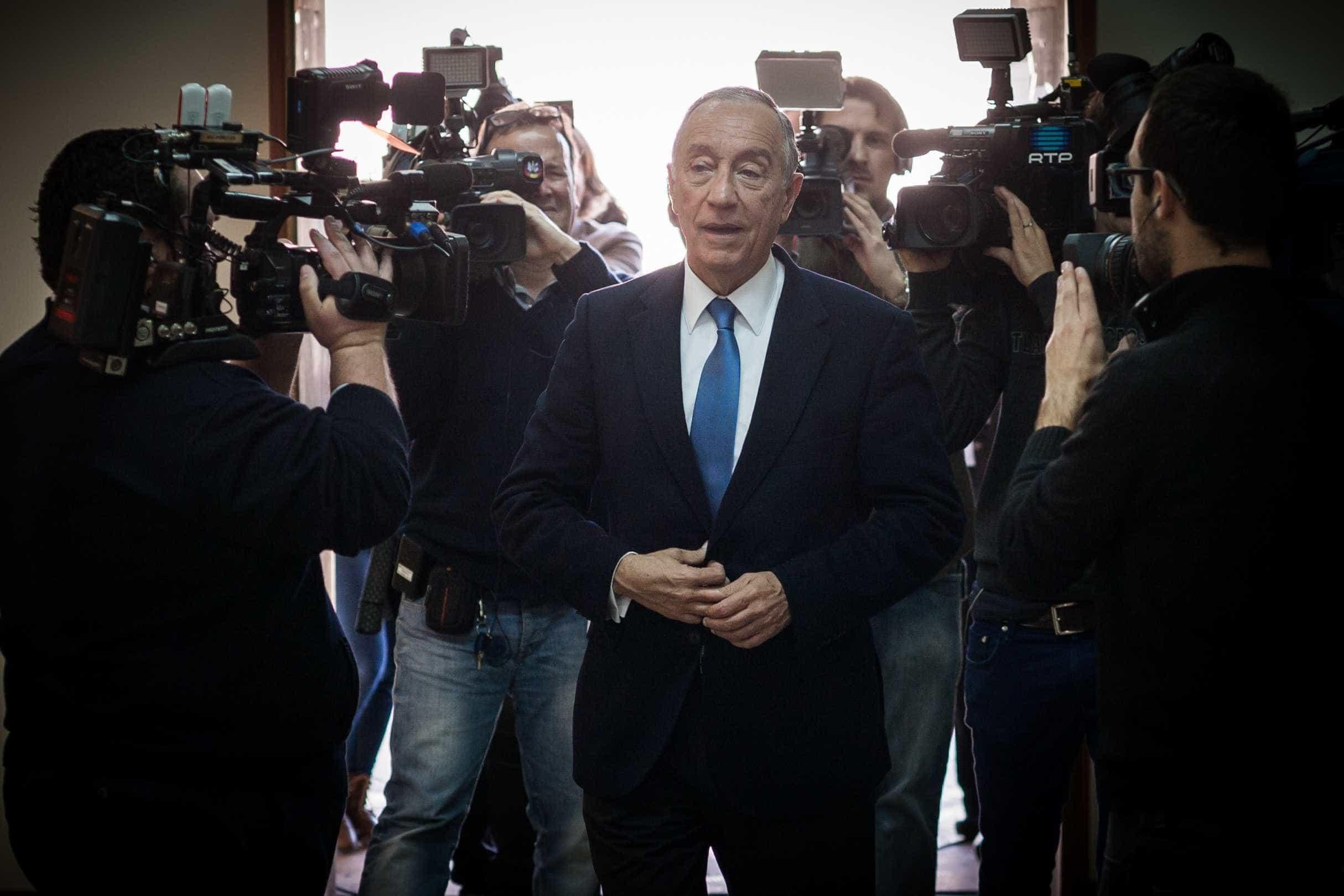 """Marcelo não comenta OE. Prefere esperar porque """"há novidades de percurso"""""""