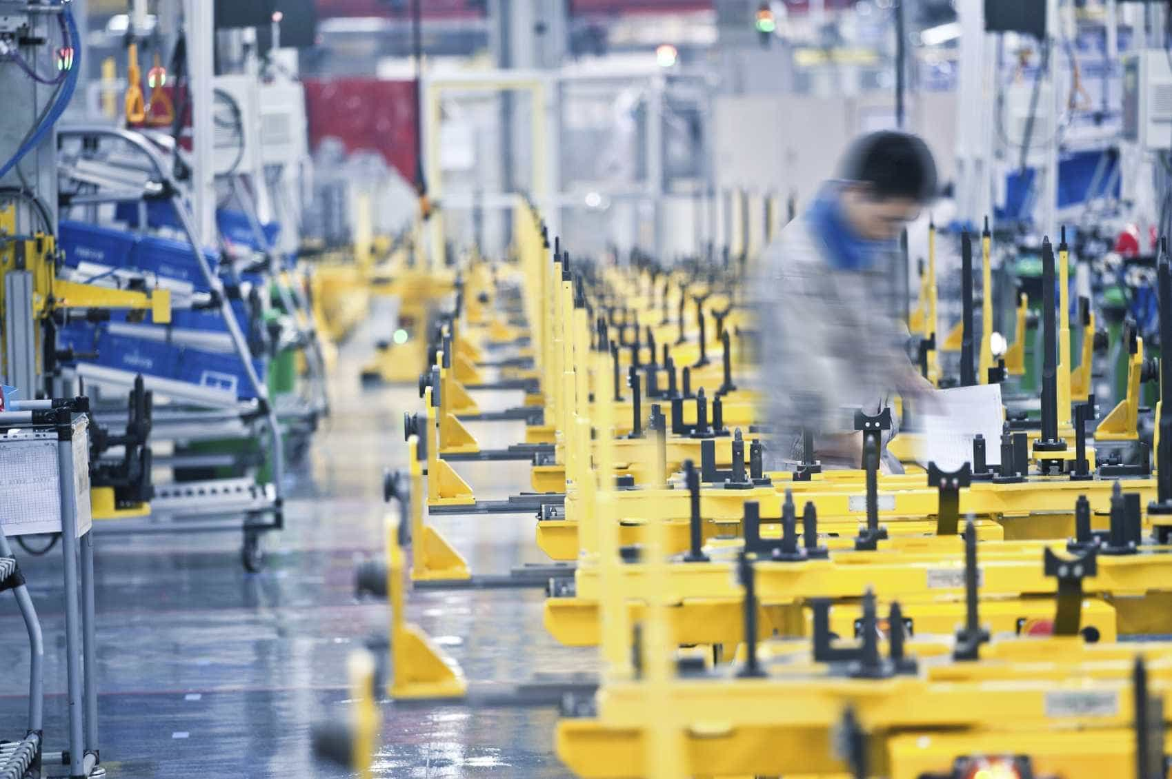 Portugal com terceira maior quebra homóloga na produção industrial
