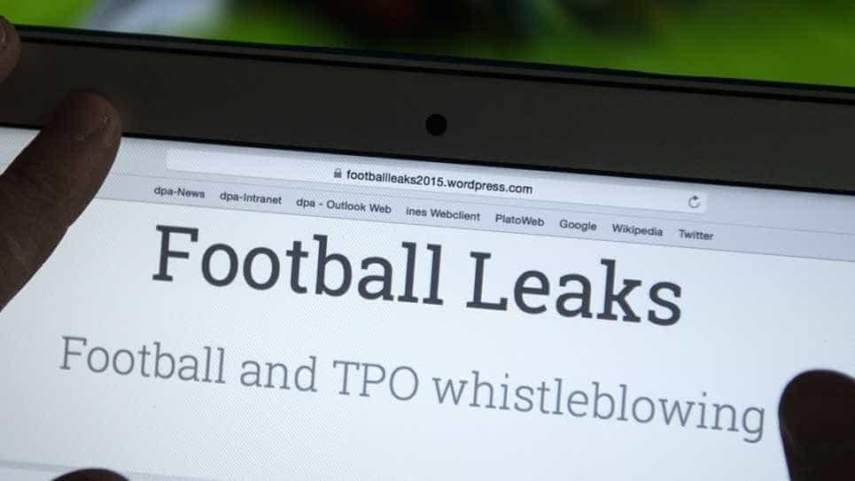 Football Leaks revela doping de uma estrela do futebol mundial