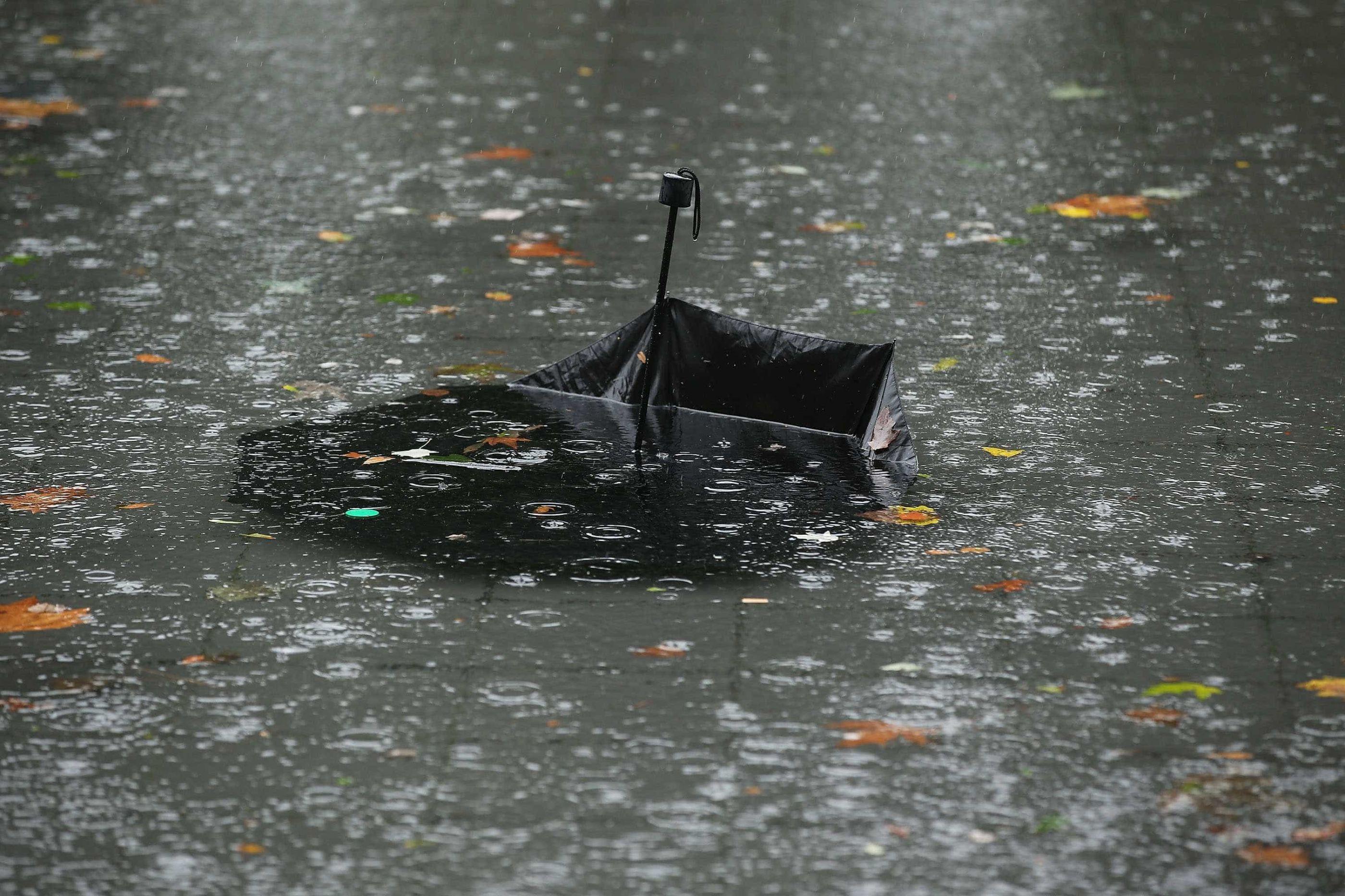 Chuva e vento fortes a partir da noite deste sábado
