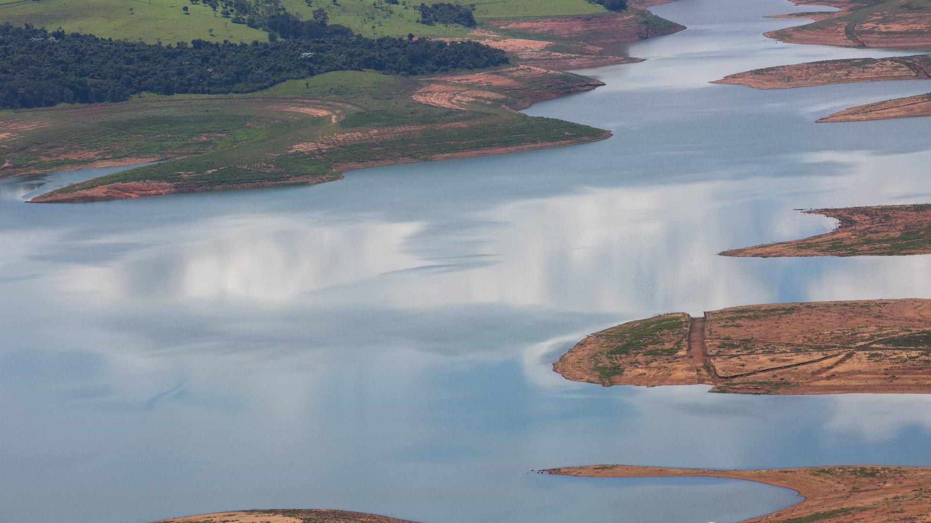 Barragem da Vale em risco de rotura iminente no estado de Minas Gerais